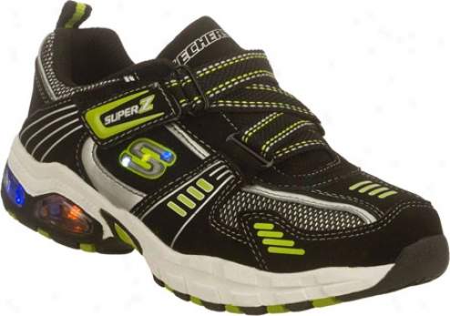 Skechers S Lights Termination Radian (bosy') - Black/green