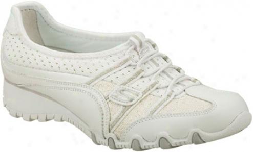 Skechers Sassies Heirloom (women's) - White/silver
