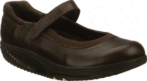 Skechers Shape Upw Point Five Blooming (women's) - Dark Brown