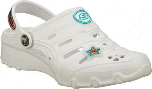Skechers Step Ups Punkin (girls') - White