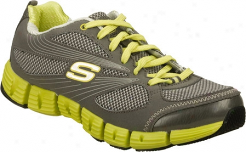 Skechers Stride (women's) - Gray/green