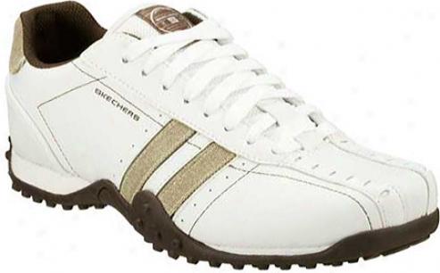 Skechers Urbantrack Forward (men's) - White /taupe