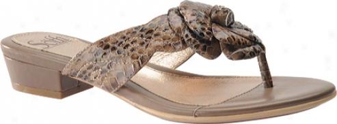 Sofft Baler (women's) - Sand Snake Print Leather