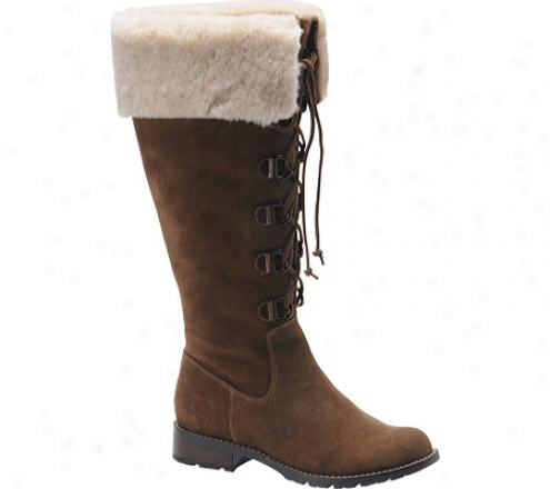 Sofft Barbourne (women's) - Mogano Suede/shearling