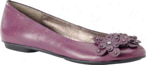 Sofft Botija (women's) - Plum Purple Leather