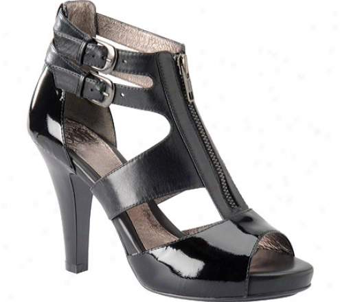 Sofft Padova (women's) - Black Patent Leather/nappa Leather