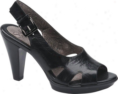 Soft Reine (women's) - Black Leather