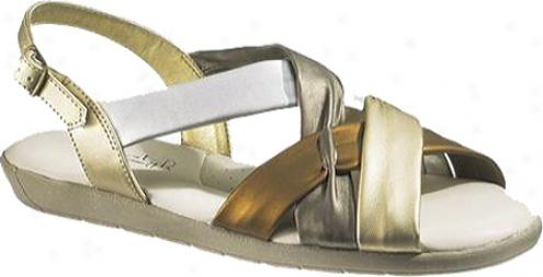 Soft Style Seashell Ii (women's) - Metallic Multi