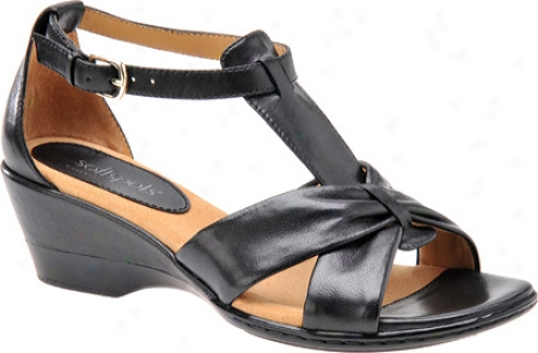 Sofrspots Cass (women's) - Black Soft Leather