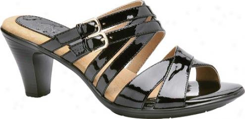 Softspots Nadine (women's) - Black Patent Leather