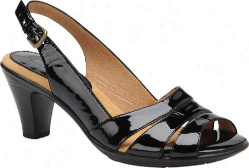Softspots Neima (women's) - Black Patent
