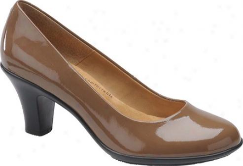 Softspots Pallas (women's) - Caramel Patent Leather