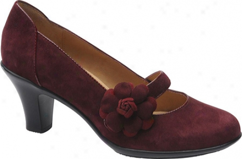 Softspots Posey 2 (women's) - Crimson Suede