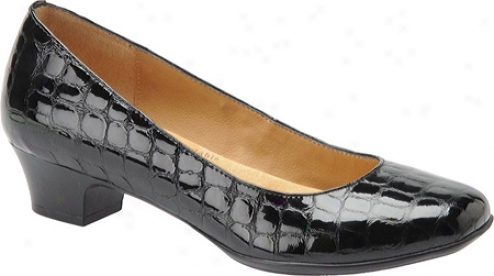 Softspots Samara (women's) - Black Croco