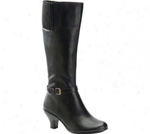 Softspots Skye Ii (women's) - Black Calfskin