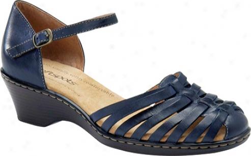 Softspots Ttaianna (women's) - Navy Leather