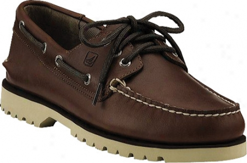 Sperry Top-sider Boat Pull 3-eye (men's) - Rustic Red