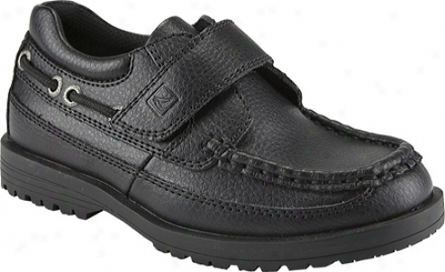 Sperry Top-sider Boat Lug H&l (infant Boys') - Black Leather