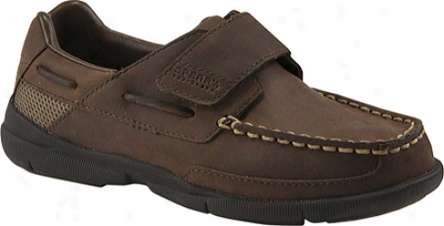 Sperry Top-sider Charter H&l (boys') - Dark Brown L3ather
