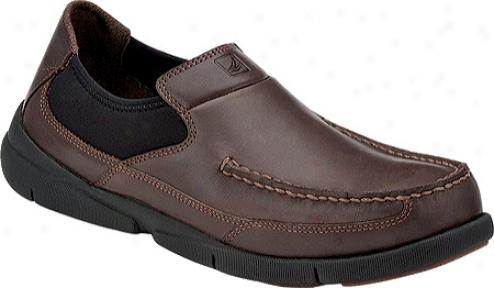 Sperry Top-sifer Charter Slip On (men's) - Dark Brown