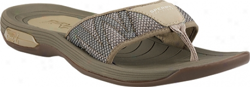 Spetry Top-sider Coastal Runner Thong With Asv (men's) - Taupe