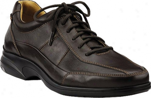 Sperry Top-sider Gold Dress Casual Sport Oxford Asv (men's) - Dark Brown Lsathre
