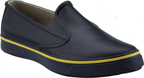 Sperry Top-sider Rubber Slip On (men's) - Navy Rubber