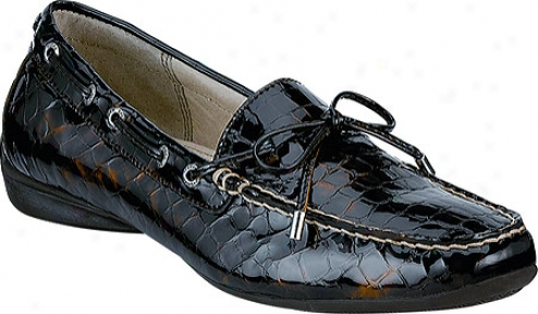 Sperry Top-sider Sconset (women's) - Brown Patent Croc