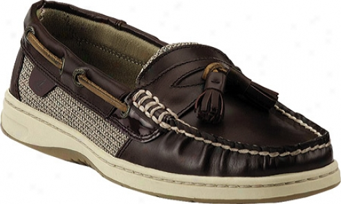 Sperry Top-sider Tasselfish (women's) - Burgundy Leather