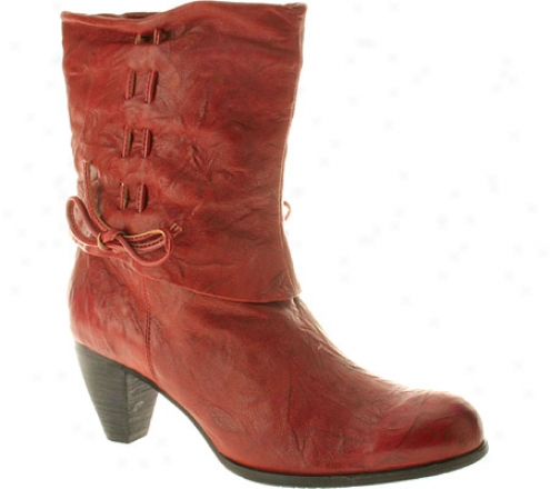Spring Step Acclaim (women's) - Red Leather