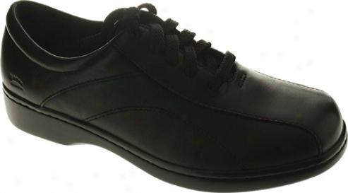 Rebound Step Amxterdam (women's) - Black Leather