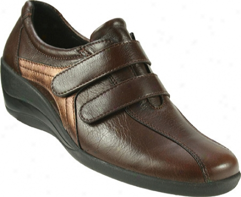 Spring Step Ana (women's) - Brown Leather
