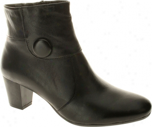 Spring Step Ariella (women's) - Black Leather