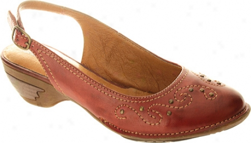 Spring Step Balboa (women's) - Red Leather