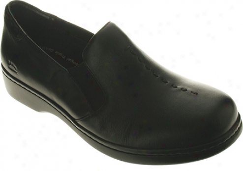 Spring Step Berlin (women's) - Black Leather