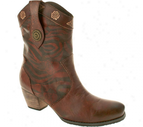 Spring Step Billie (women's) - Brown Leather