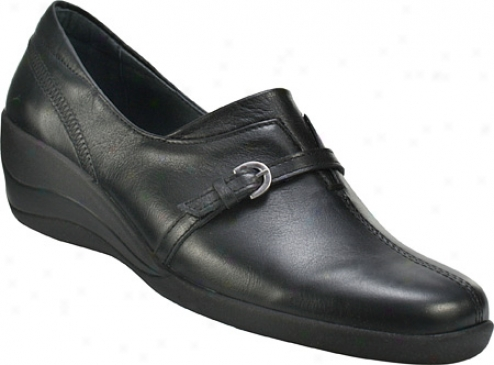 Spring Step Camelot (women's) - Black Leather