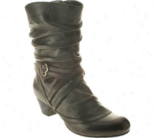 Spring Step Canyon (women's)  -Black Leather