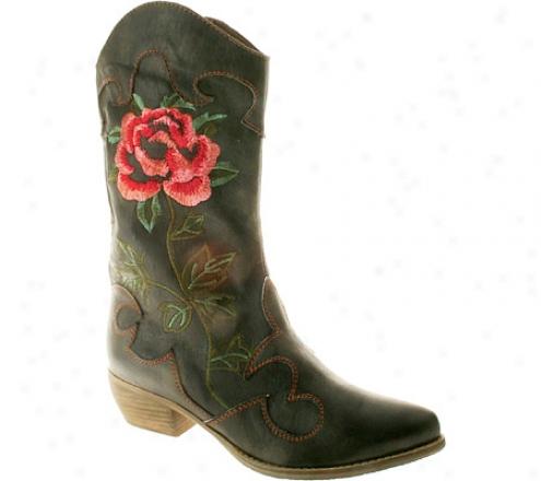 Spring Step Cheyenne (women's) - Black Leather