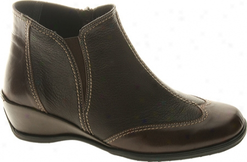Spring Short distance Coty (women's) - Brown Combo Leather