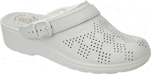 Spring Step Daisy (women's) - White Leather