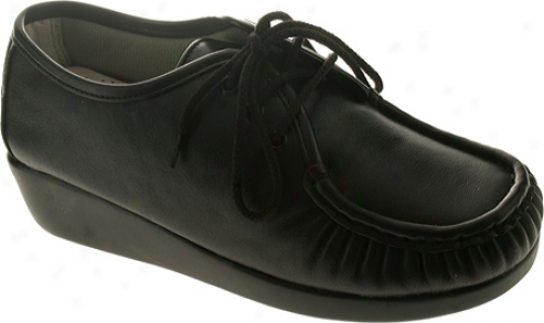 Spring Step Emily (women's) - Black Leather