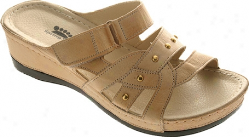 Spring Step Enligjten (women's) - Beige Leather
