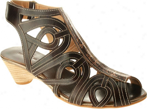Spring Step Flourish (women's) - Brown Leather
