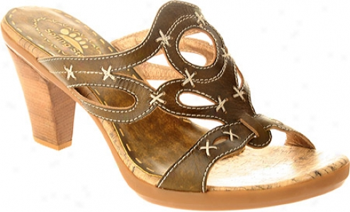 Spring Step Gemini (women's) - Olive Leather