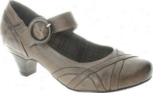 Spring Measure Gidget (women's) - Grey Leather