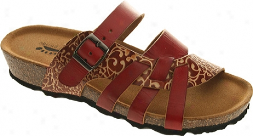 Leap Step Hava (women's) - Red Leather