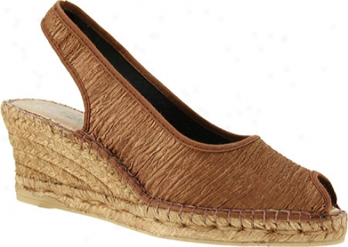Spring Step Jeeanette (women's) - Brown Textile