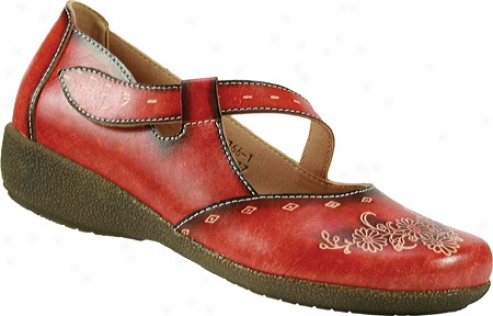 Spring Degree Juniper (women's) - Red Leather