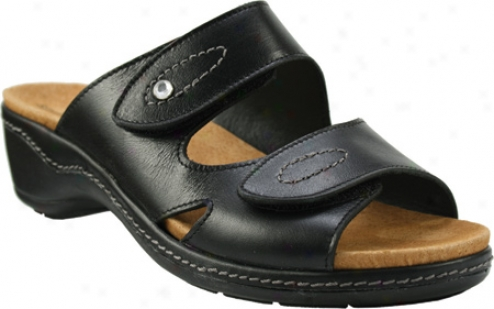 Spring Step Keesha (women's) - Black Leather